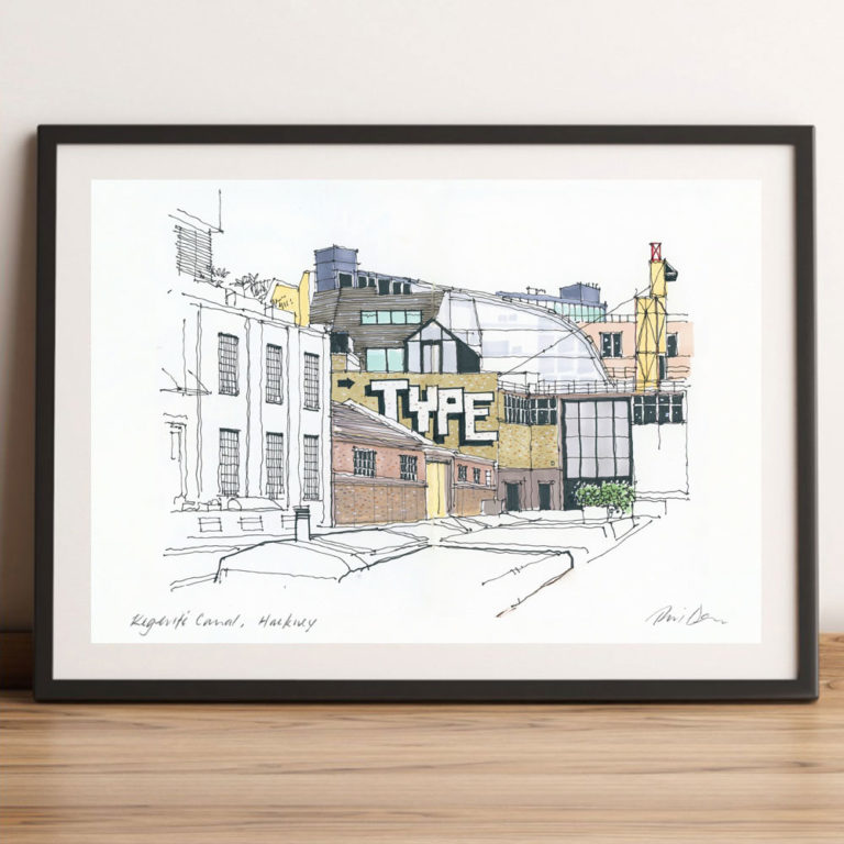 Regents Canal, Hackney £29.95